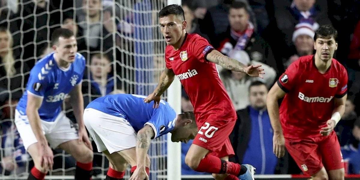 Charles Aránguiz fue la gran figura en el triunfo del Bayer Leverkusen por la Europa League