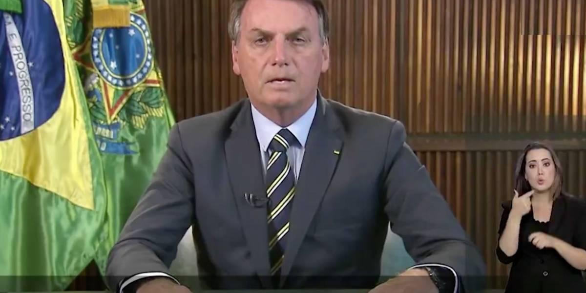 Bolsonaro pede que população repense ida a manifestações de domingo