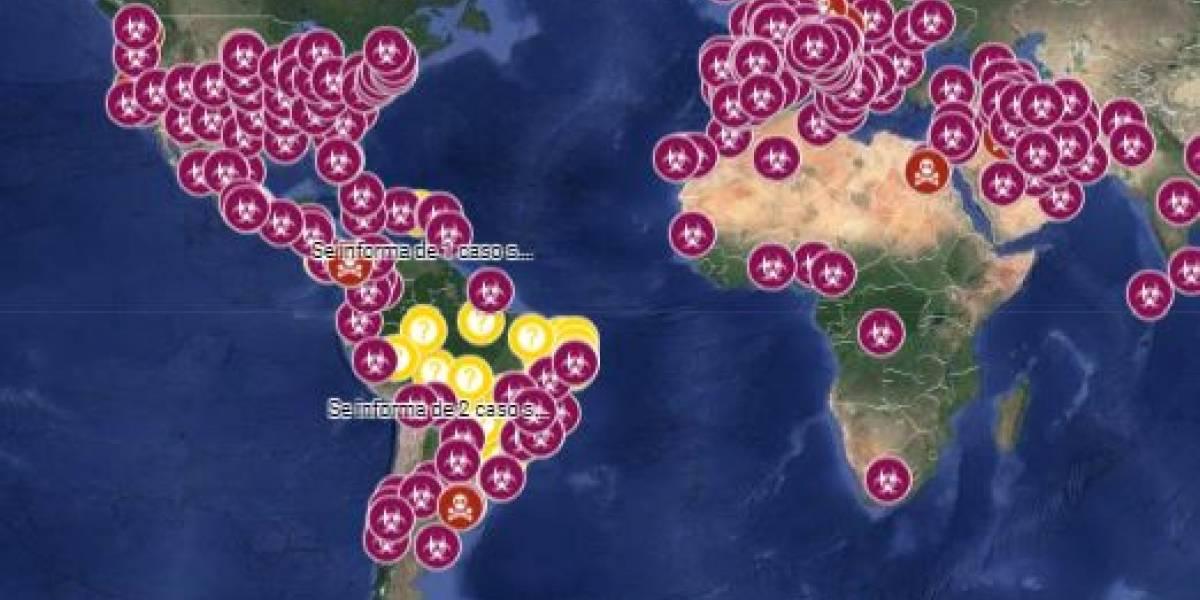 Google Maps activa un mapa interactivo para ver los casos confirmados de Coronavirus