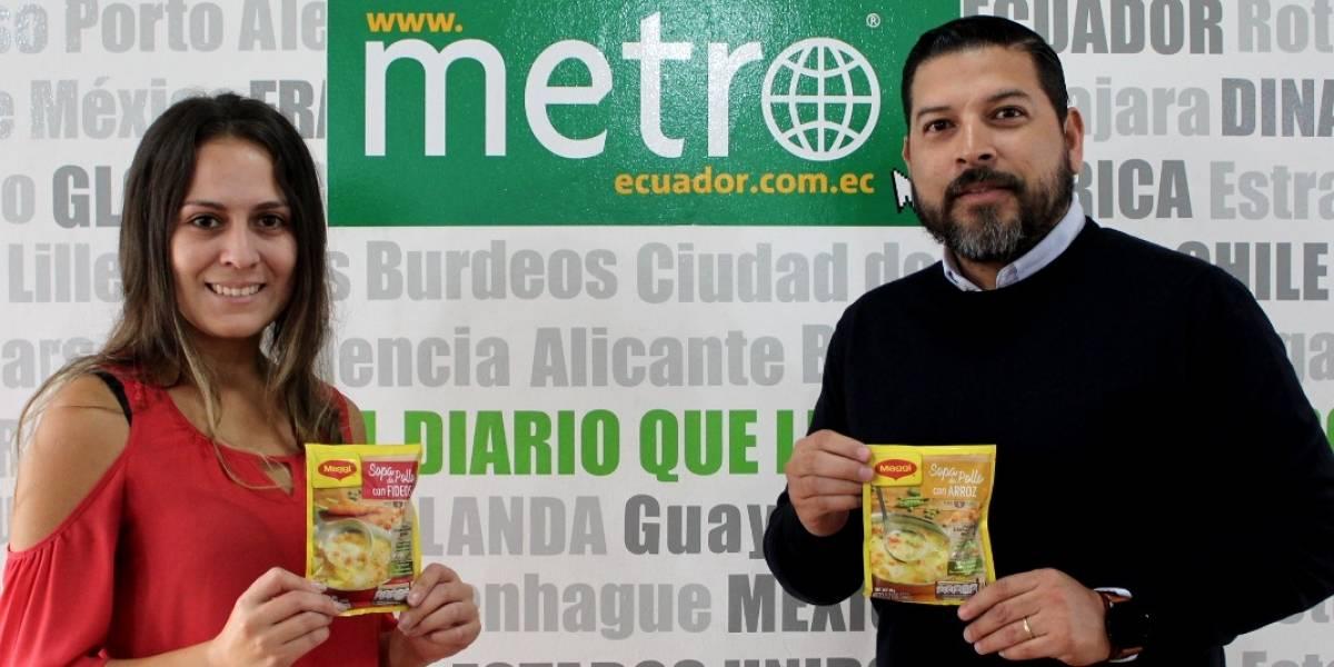 """Maggi escogerá """"la mejor sopa del Ecuador"""" a través de este concurso"""