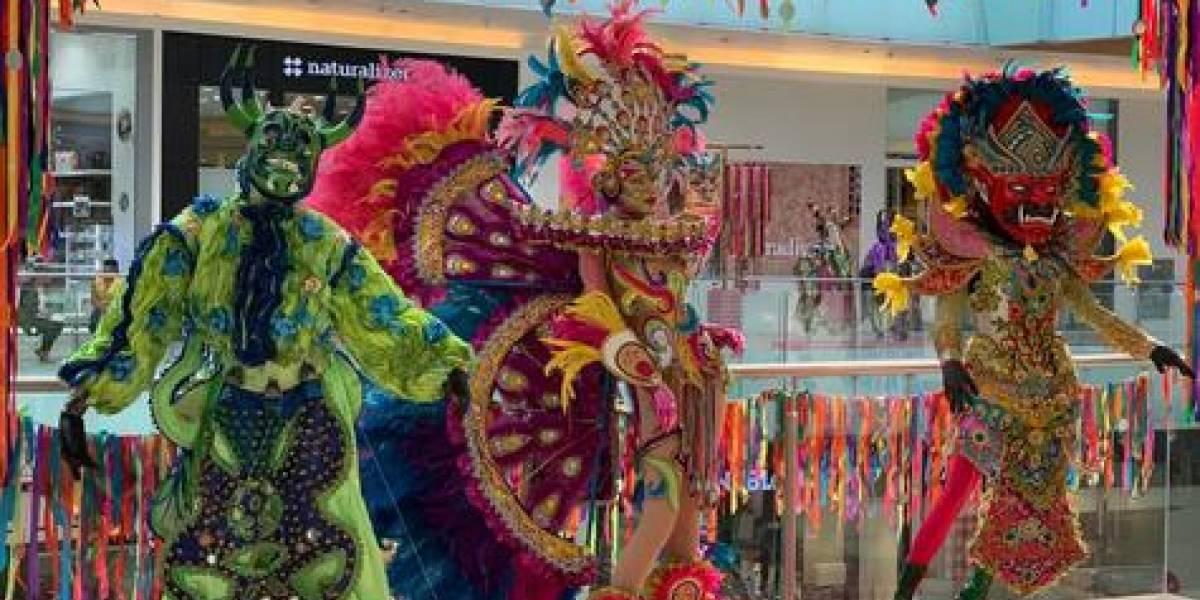 """Exposición """"Carnavales de mi tierra"""" concluye el lunes 16 de marzo en Ágora Mall"""