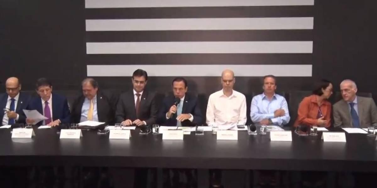 Doria anuncia medidas contra coronavírus em SP e descarta cancelamento de eventos