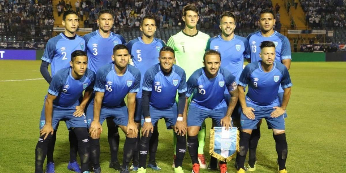Concacaf decide aplazar el partido entre Guatemala y Montserrat
