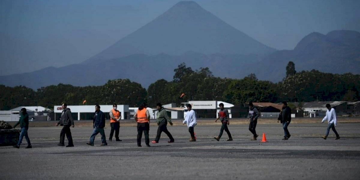 FOTO. Autoridades de Uspantán, Quiché, dan bienvenida a retornados