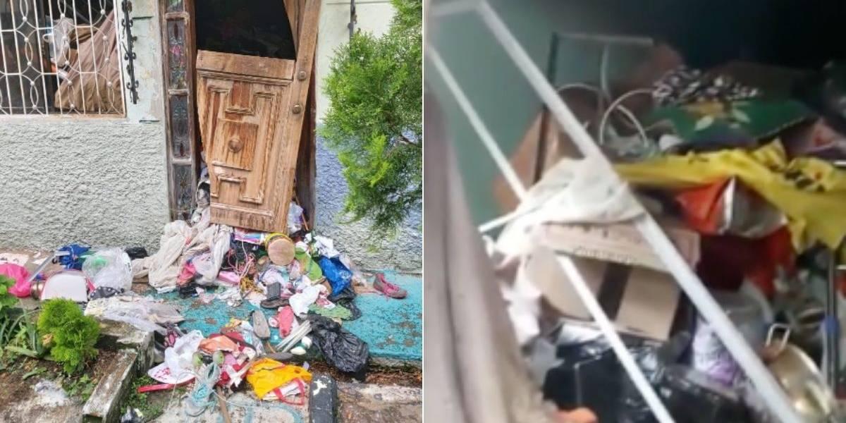 Comunidad denuncia que mujer acumuladora les tiene las casas llenas de ratas