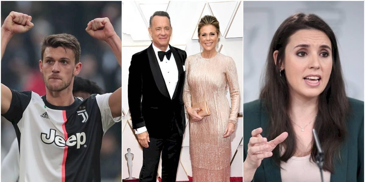 Los famosos que dieron positivo por coronavirus en el mundo
