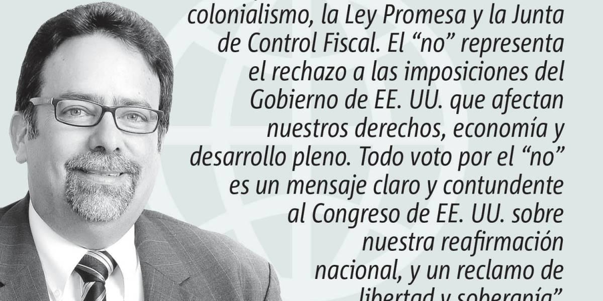 """Opinión de Denis Márquez: """"Un voto por el no"""""""