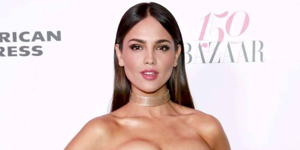 Eiza González impacta con traslúcido vestido al lado de Vin Diesel