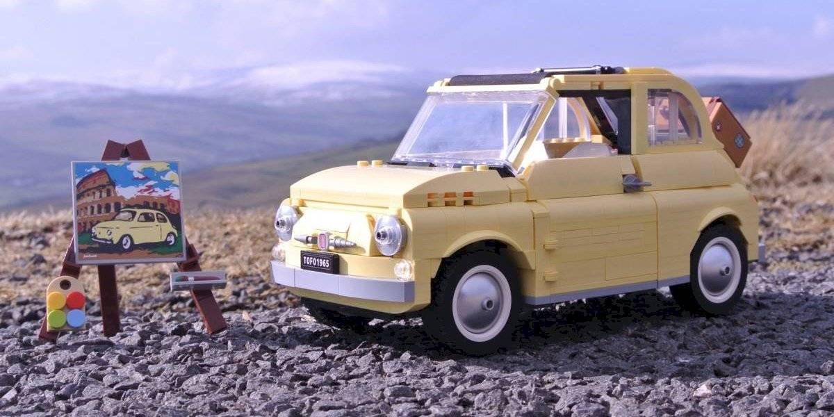 En 960 piezas, Lego homenajea al mítico Fiat 500