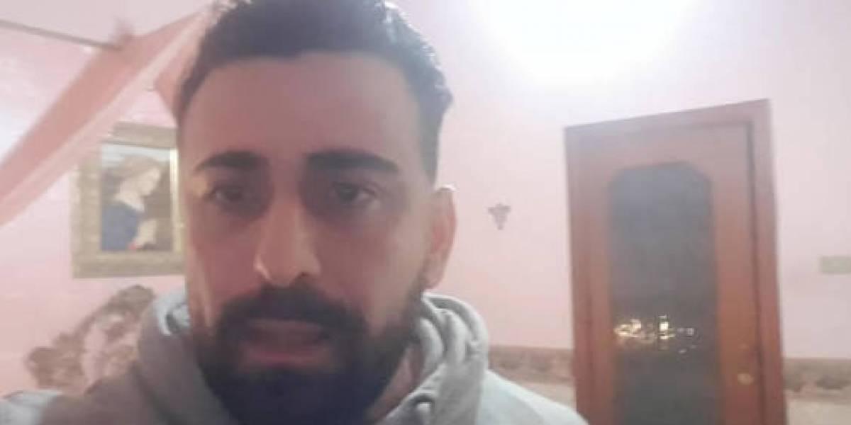 Actor italiano quedó atrapado junto al cadáver de su hermana muerta por coronavirus