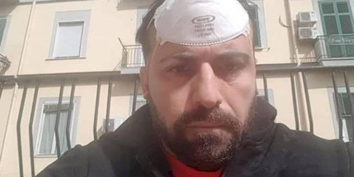 VIDEO. Actor italiano con coronavirus se graba junto a su hermana muerta por esa enfermedad