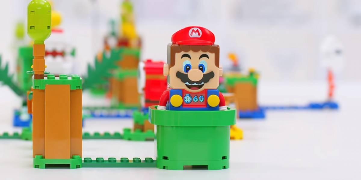 Super Mario LEGO es como Super Mario Maker del mundo real