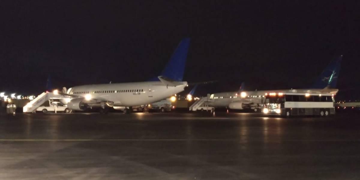 Canciller guatemalteco ingresará al país en un vuelo de retornados