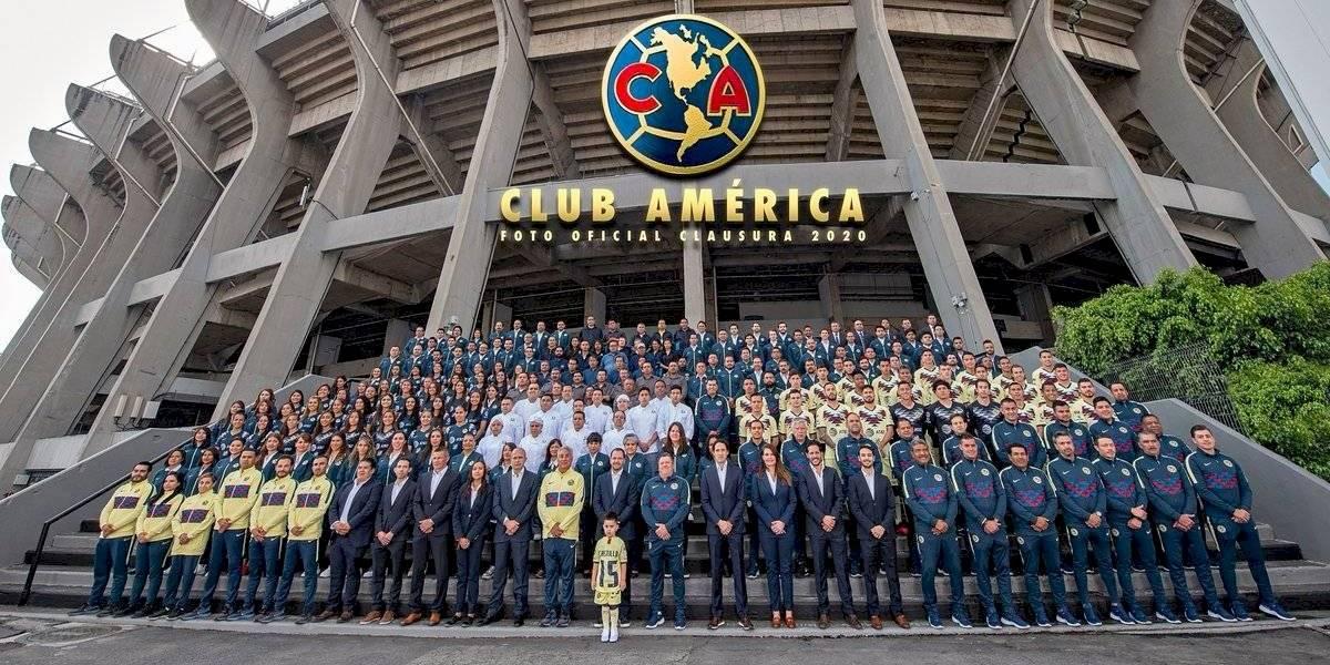 Representó hijo a Nico Castillo en foto del América tras trombosis