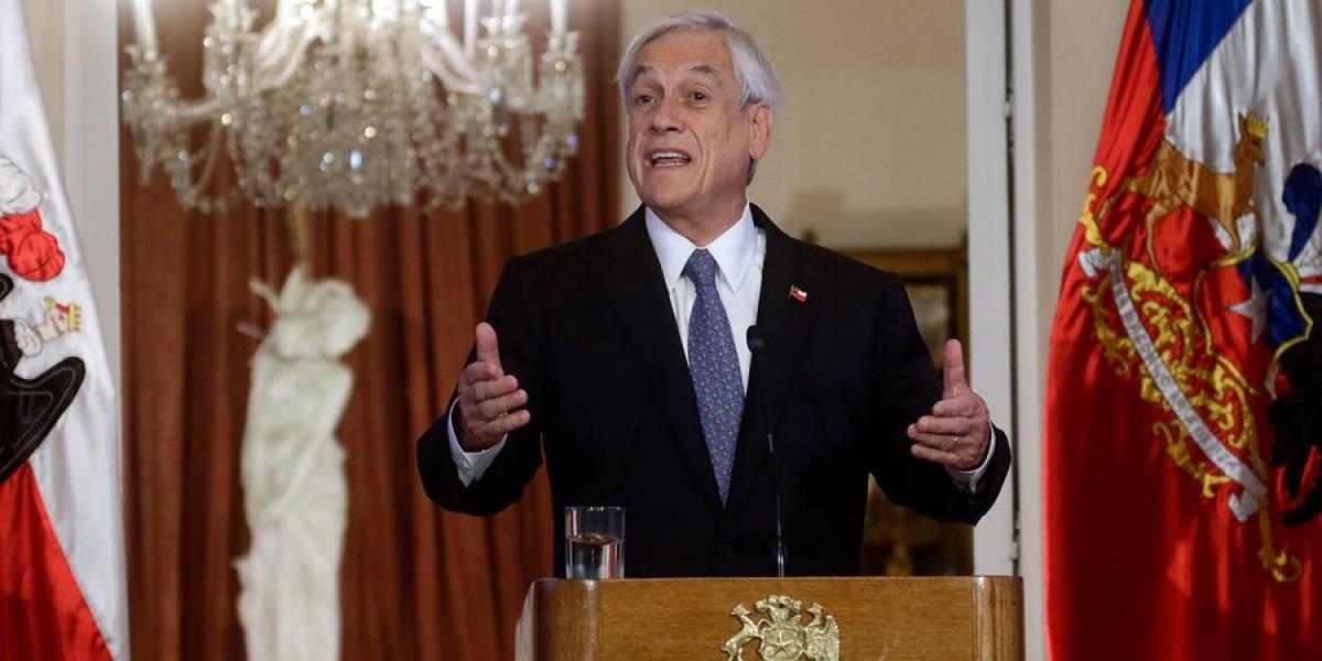 """""""Supimos de los incendios en el metro cuando fuimos informados"""": Piñera rectifica declaración sobre el 18-O tras polémica"""