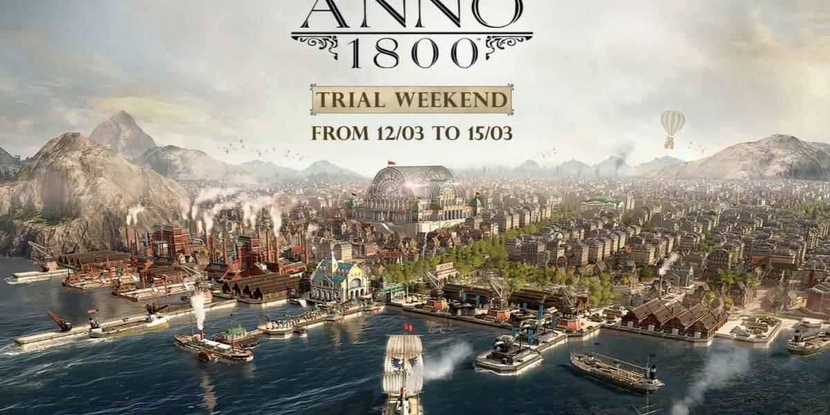 Título Anno 1800 está disponível gratuitamente na Epic Games Store