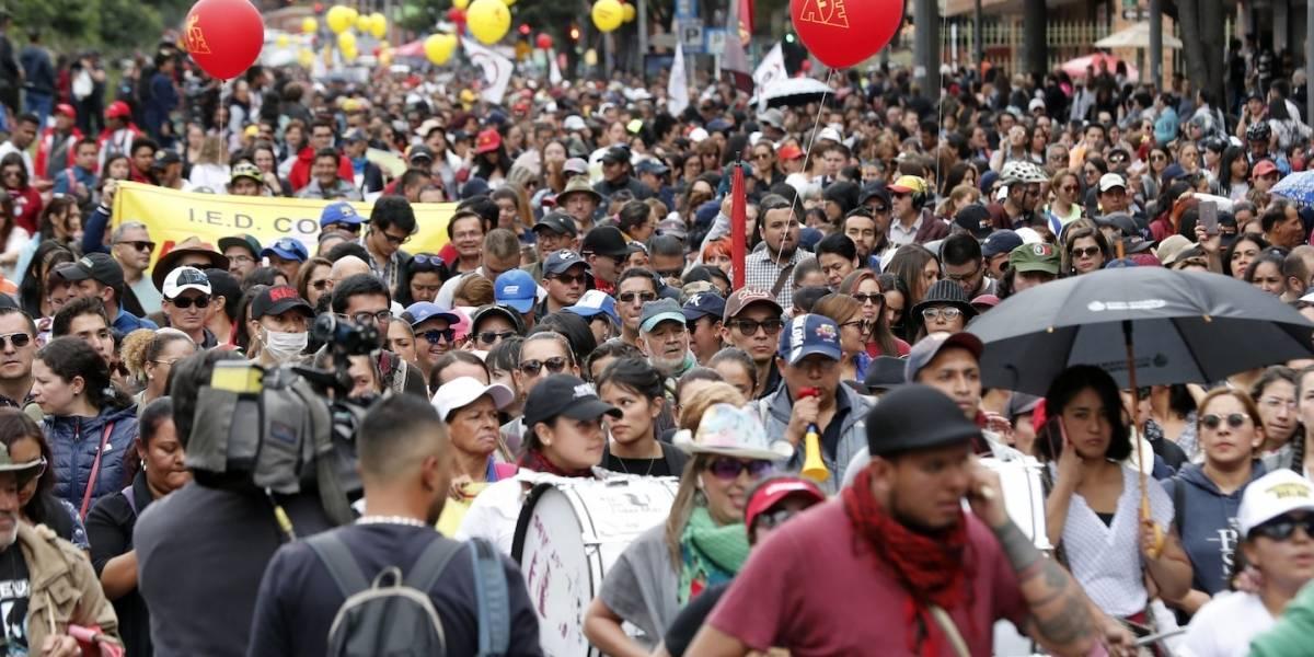 Anuncian protestas en todo el país para la próxima semana