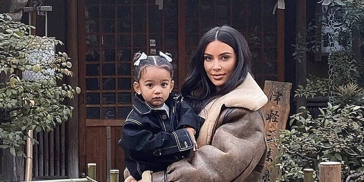 Chicago West, hija de Kim Kardashian, enterneció las redes y destronó a su hermana North
