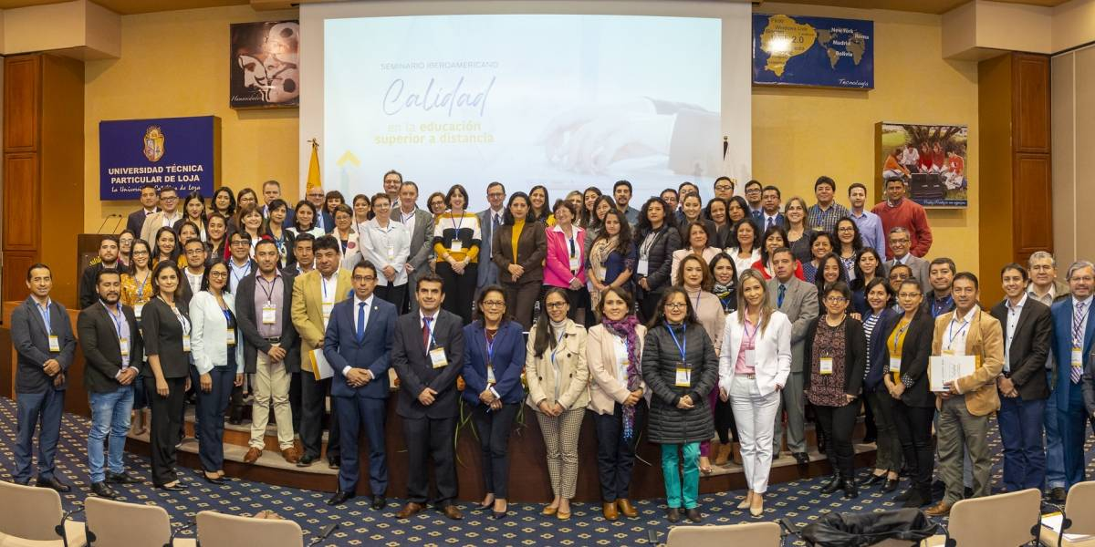 UTPL promueve calidad de la Educación Superior a Distancia en cita internacional