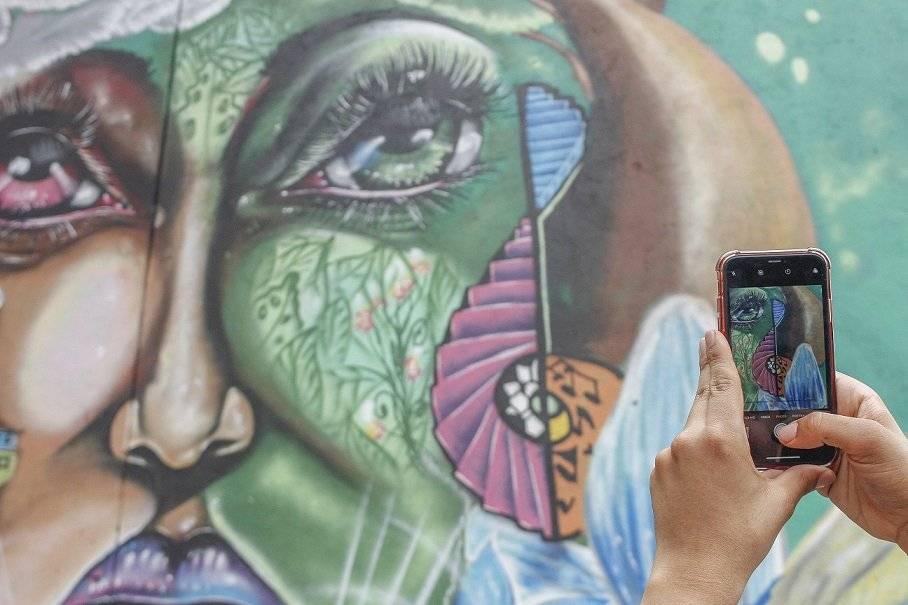 Graffitour 2020 Comuna 13 Medellín
