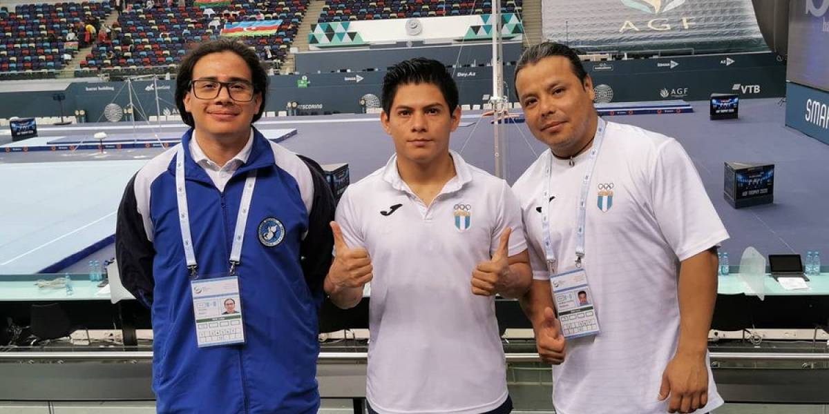 Jorge Vega sueña con Tokio 2020 tras clasificar a la final de Copa del Mundo de Gimnasia de Bakú