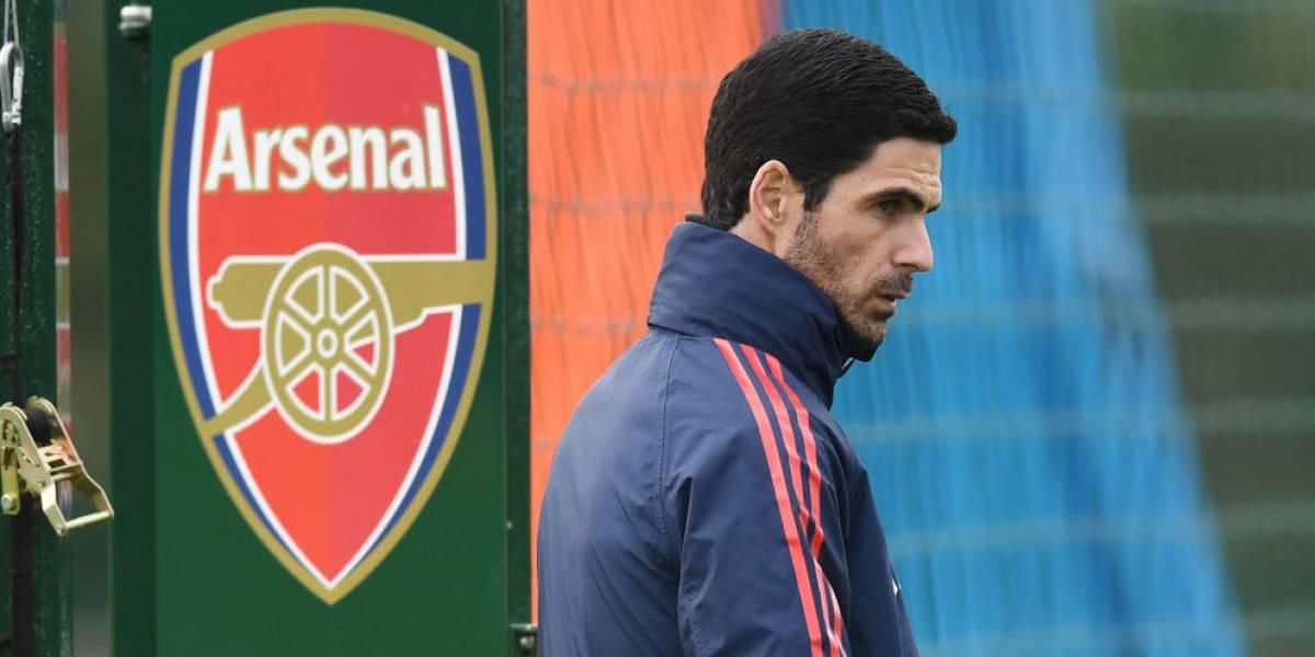 Mikel Arteta, DT del Arsenal, da positivo en Coronavirus