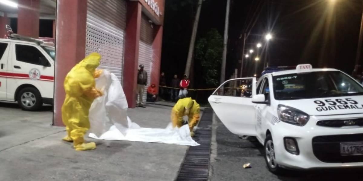 Inacif no descarta que muerte de mujer en taxi haya sido por Covid-19