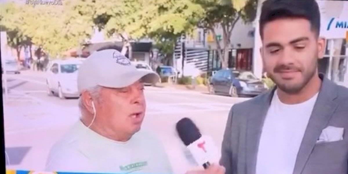 Reportero boricua vive momento vergonzoso en vivo