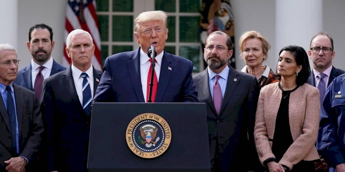 Trump desembolsa 50 mil millones de dólares para lidiar con el coronavirus