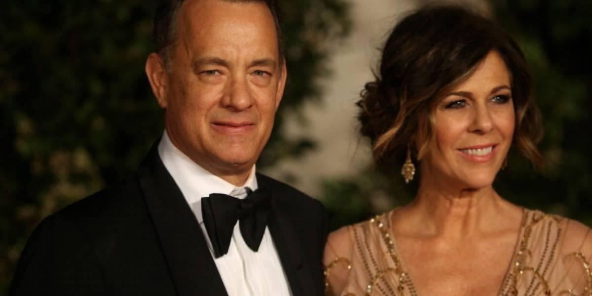 Tom Hanks publicó una foto junto a su esposa días después de dar positivo en coronavirus
