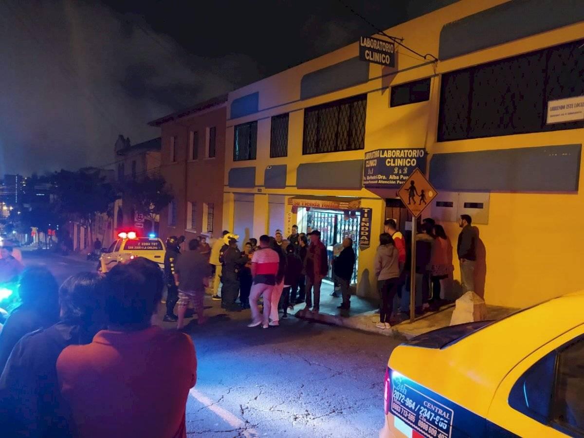 Moradores del sector de San Juan intentaron linchar a cinco delincuentes METRO ECUADOR