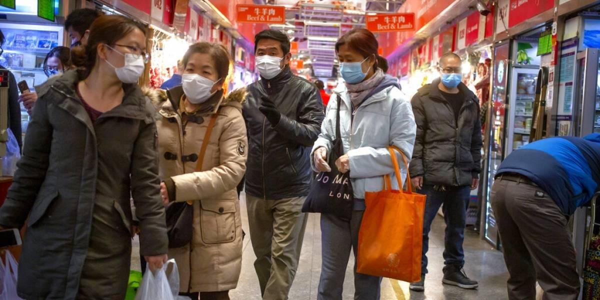 Casos de virus despuntan en todo el mundo, China se recupera