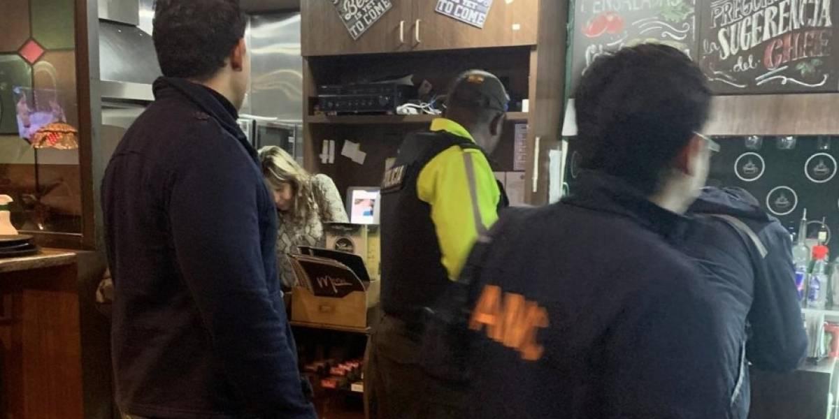 Detenidos en Quito tras agresión a agentes en operativo control de coronavirus