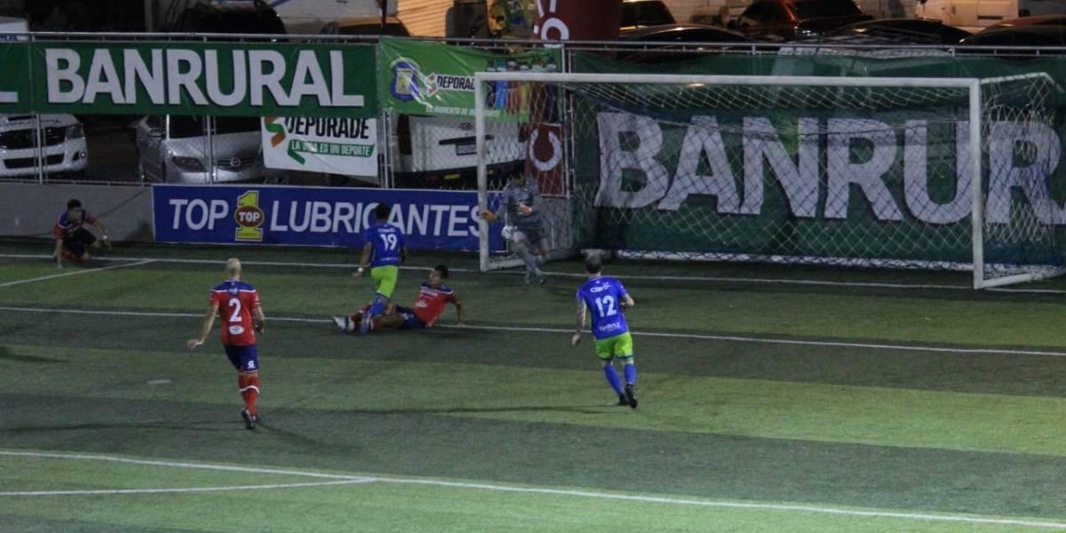VIDEO. Deportivo Mixco gana con el mejor gol de contragolpe de la liga