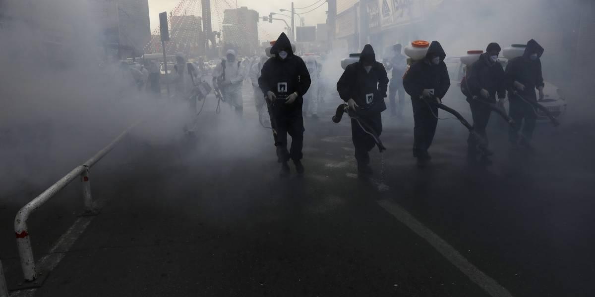 Irán: abrumador el brote de coronavirus