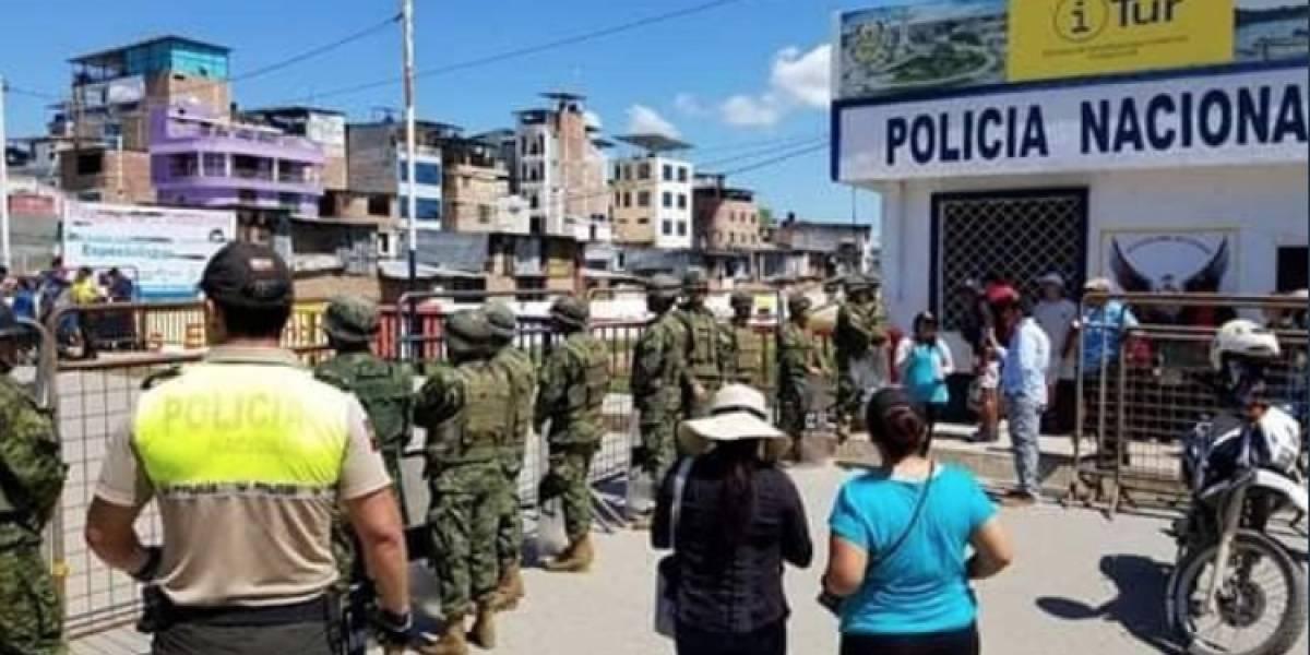 Huaquillas: Se cerró la frontera de Ecuador con Perú por coronavirus