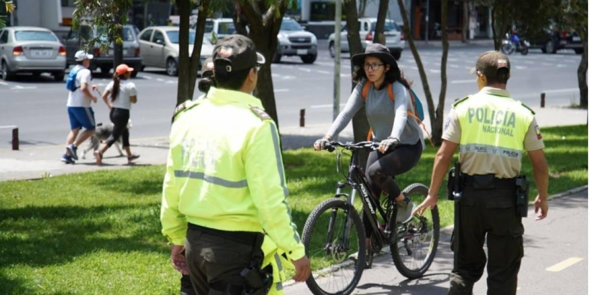 Visitantes en los parques de Quito a pesar de recomendación por coronavirus