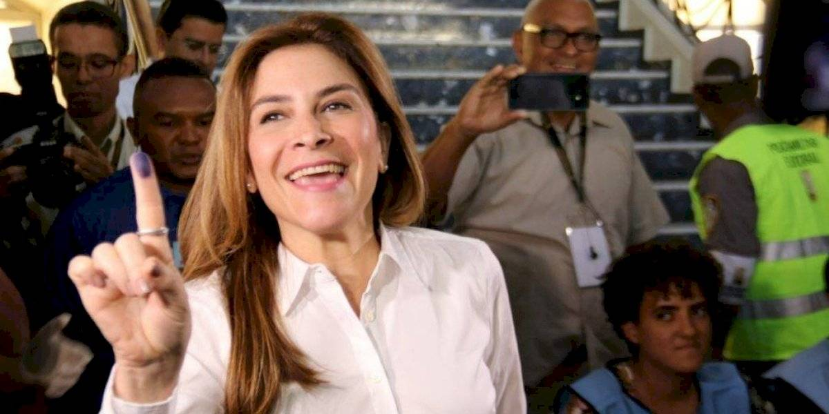 Carolina Mejía aventaja a Domingo Contreras en el primer boletín de la JCE