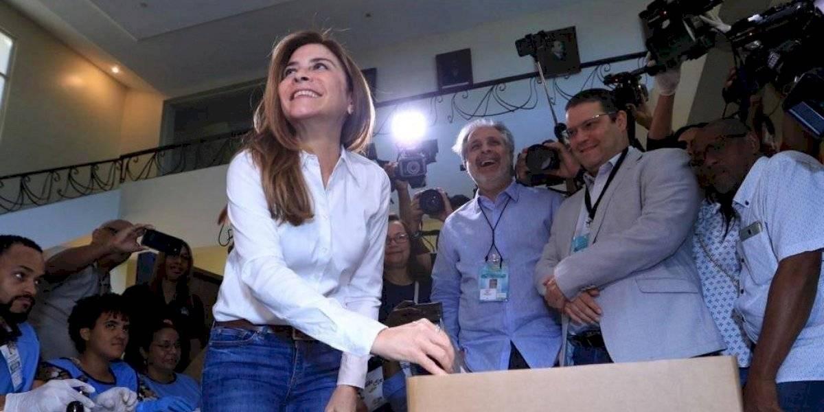 Carolina Mejía destaca tranquilidad en la jornada electoral