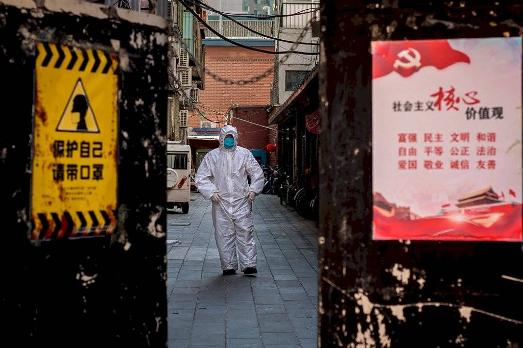 Coronavirus en Beijing, China