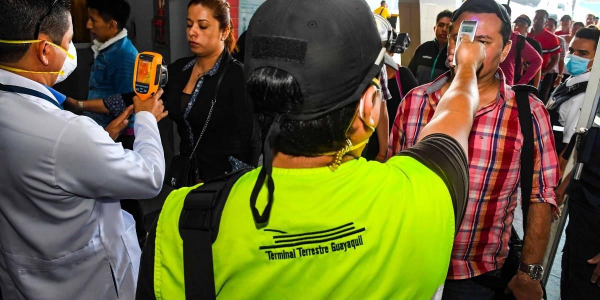 Cámaras térmicas para el control de pasajeros que llegan a Terminal Terretre de Guayaquil