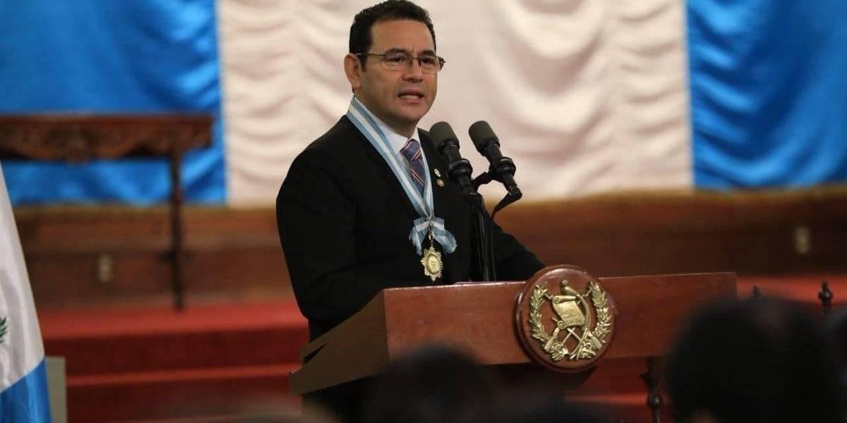 Expresidente Jimmy Morales recomienda orar por el país
