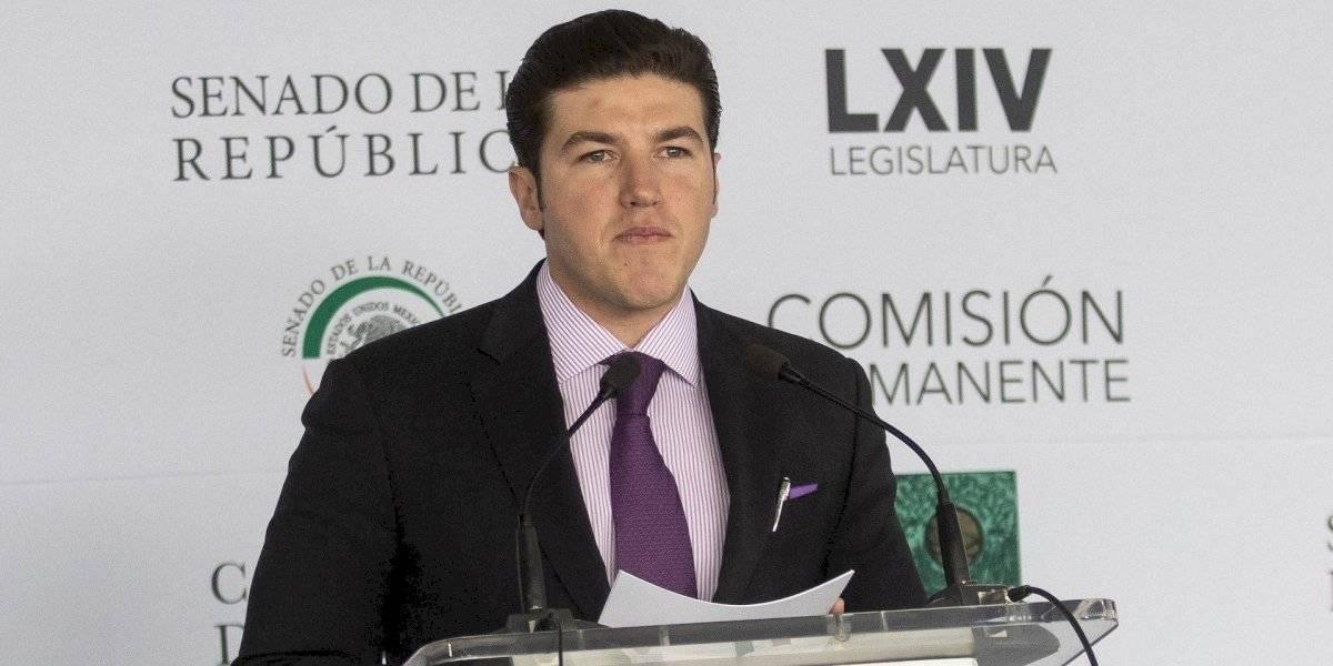 Samuel García se casa pese a contingencia por coronavirus