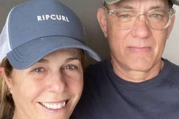 Tom Hanks y su mujer fueron dados de alta — Coronavirus