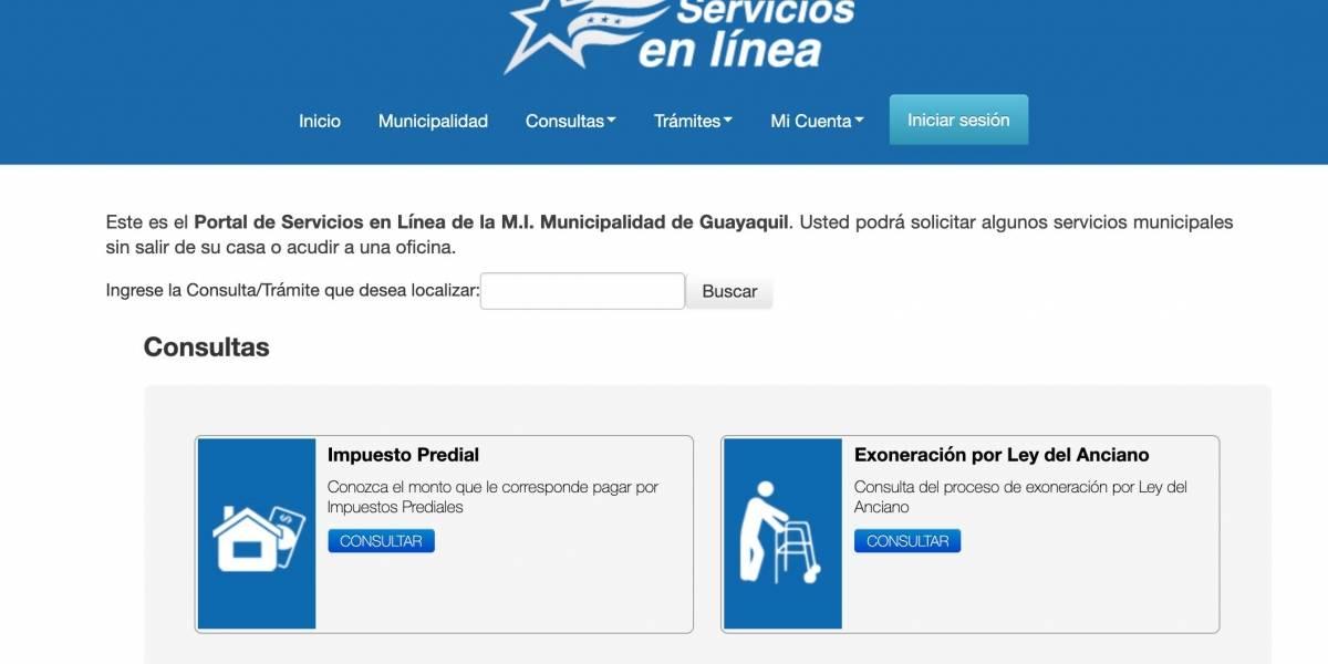 Guayaquil: Pasos para abrir una cuenta on line en página web del Municipio