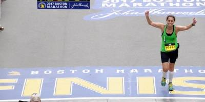 Sara Velloso - Maratona de Boston