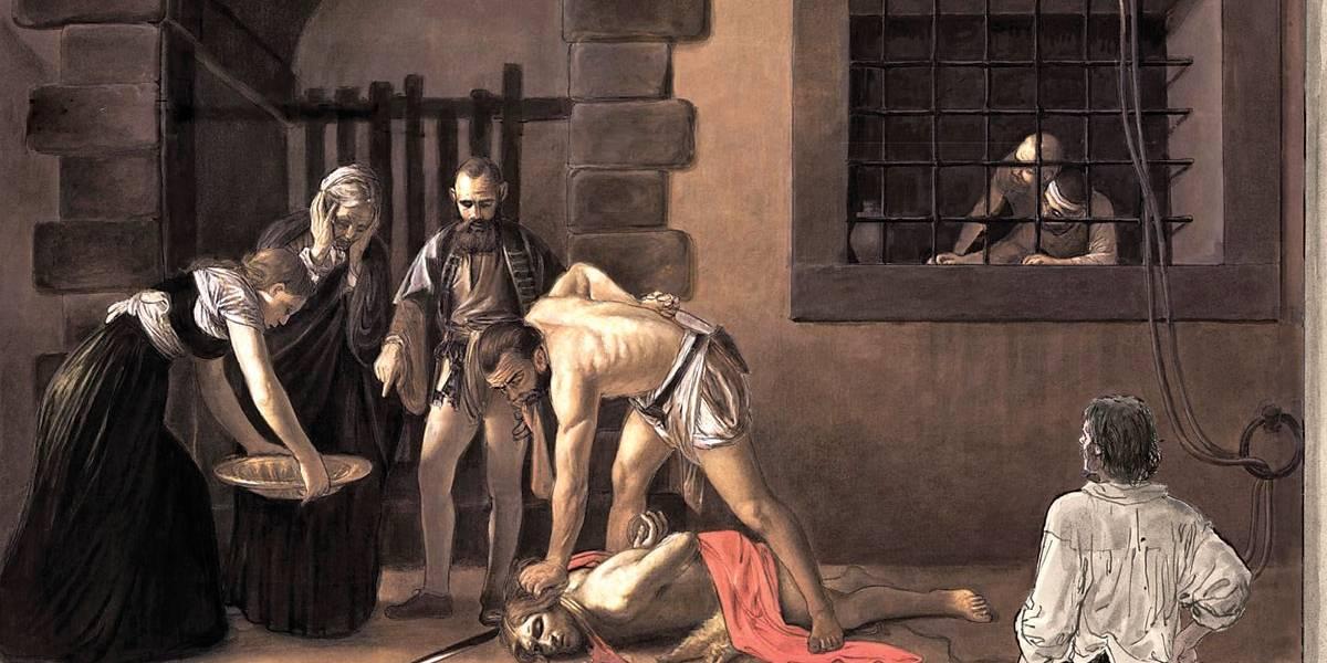 Caravaggio 2: Milo Manara se concentra nos últimos anos do pintor