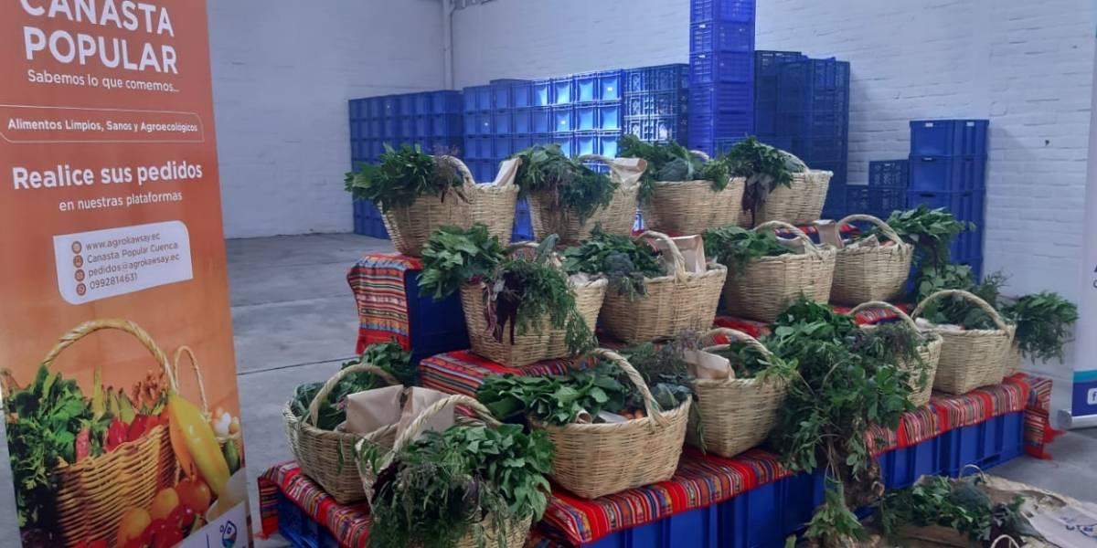 Agrokawsay ofrece dos opciones de canastas agroecológicas en línea