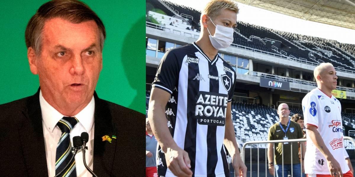 Irresponsables declaraciones de Bolsonaro sobre la suspensión del fútbol en Brasil por coronavirus