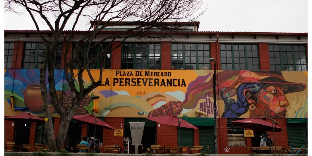 La lectura es protagonista en las plazas de mercado de Bogotá